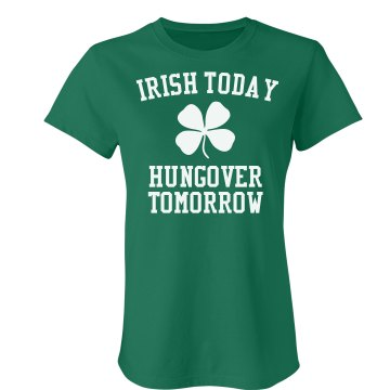 Irish Today Misses Relaxed Fit Gildan Ultra Cotton Tee
