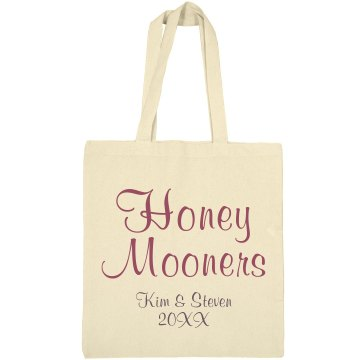 Kim's Honeymoon Bag Liberty Bags Canvas Bargain Tote Bag