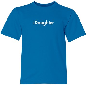 iDaughter Tank Youth Bella Girl 1x1 Rib Tank Top
