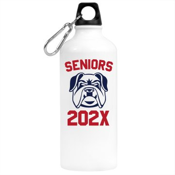 Senior 2013 Water Bottle Aluminum Water Bottle