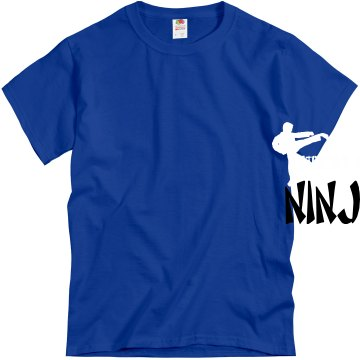 Strictly for my Ninjas Unisex Gildan Heavy Cotton Crew Neck Tee