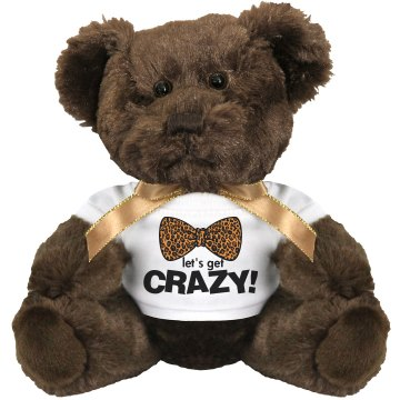 Ted's Not So Crazy Bro Medium Plush Teddy Bear