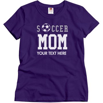 Soccer Mom Ball Misses Relaxed Fit Gildan Ultra Cotton Tee