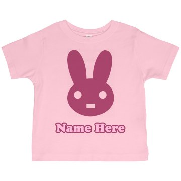Easter Bunny Kids Tee Toddler Gildan Ultra Cotton Crew Neck Tee
