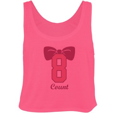 Eight Count Cheer Bow