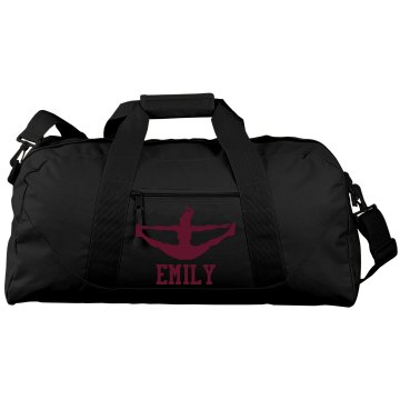 Emily's Cheer Bag Liberty Bags Large Square Duffel Bag