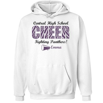 Emma's Love to Cheer Unisex Hanes Ultimate Cotton Heavyweight Hoodie