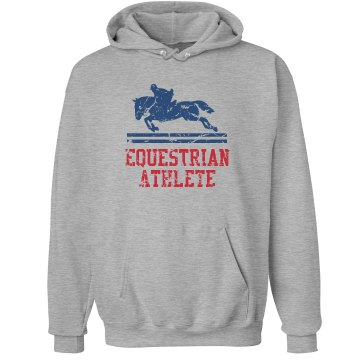 Equestrian Athlete Unisex Hanes Ultimate Cotton Heavyweight Hoodie
