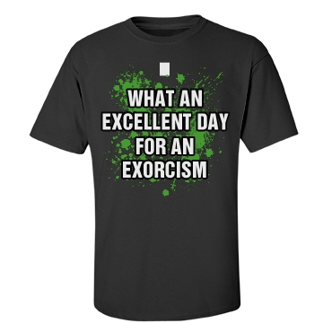 Exorcist Costume Unisex Gildan Heavy Cotton Crew Neck Tee