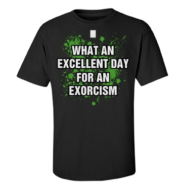 Exorcist Costume Unisex Port & Company Essential Tee