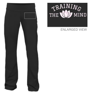 Training The Mind Yoga Junior Fit Bella Fitness Pants