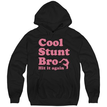 Cool Stunt Bro Cheer Unisex Hanes Ultimate Cotton Heavyweight Hoodie