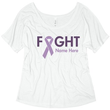 Fight Alzheimers Misses Relaxed Fit Basic Gildan Heavy Cotton Tee