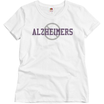 Anti-Alzheimers Misses Relaxed Fit Basic Gildan Heavy Cotton Tee