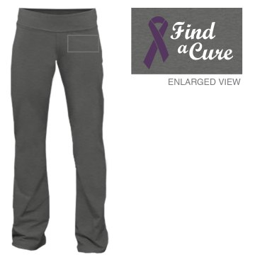 Alzheimers Cure Pants Junior Fit Bella Fitness Pants