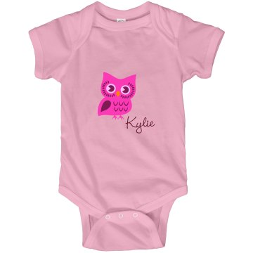 Personalized Onesie Infant Rabbit Skins Lap Shoulder Creeper