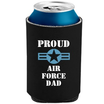 Air Force Dad Can Cooler The Official KOOZIE Can Kooler