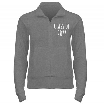 Screw Football Lets Cheer Junior Fit Bella Cadet Zip Track Jacket