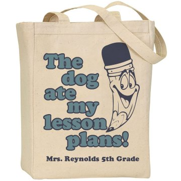 Teacher's Day Tote Liberty Bags Canvas Tote