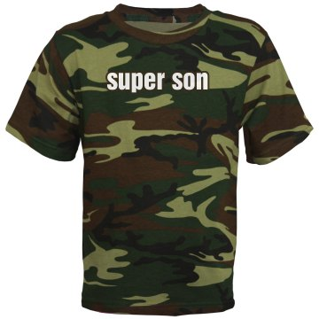 Super Son Tee Youth Code V Camouflage Tee