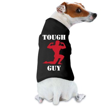Tough Guy Dog Ringer Doggie Skins Dog Ringer Tee