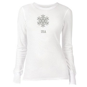 USA Junior Fit Bella Long Sleeve Thermal Tee