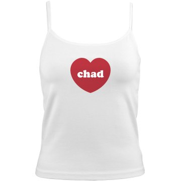 I Love Chad Bella Junior Fit Contrast Satin Trim Cami