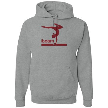 iBeam Gymnast Hoodie Unisex Hanes Ultimate Cotton Heavyweight Hoodie