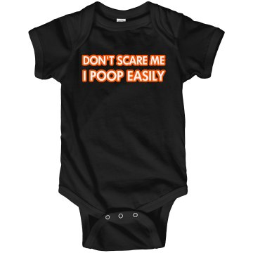 Don't Scare Me... Infant Rabbit Skins Lap Shoulder Creeper