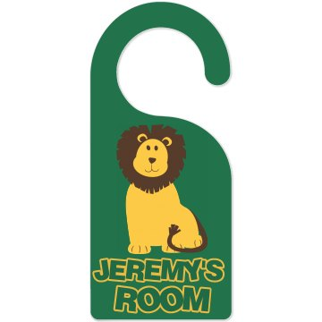 Boy's Room Door Hang Door Knob Hanger