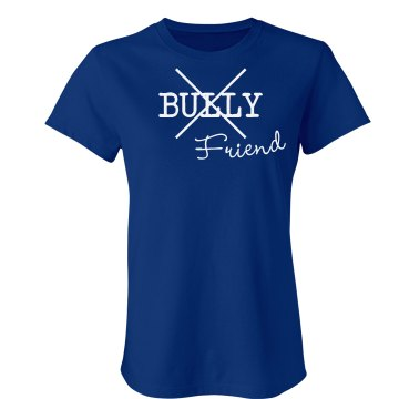 No Bullies Junior Fit Bella Sheer Longer Length Rib Tee