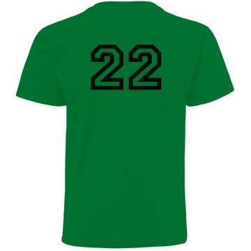 Hurricanes w/ Back Youth Gildan Ultra Cotton Crew Neck Tee