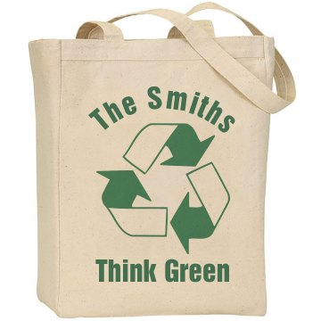 The Smiths Recycle Liberty Bags Canvas Tote