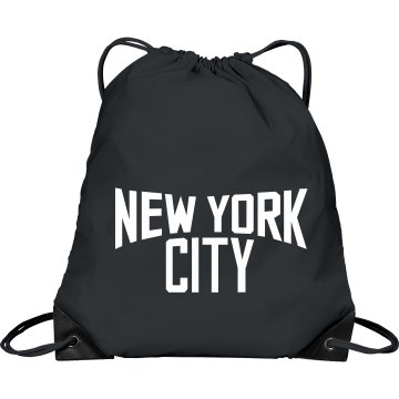 Lennon New York Bag Port &amp; Company Drawstring Cinch Bag