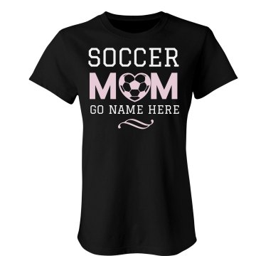 Soccer Mom Tee Misses Relaxed Fit Gildan Ultra Cotton Tee