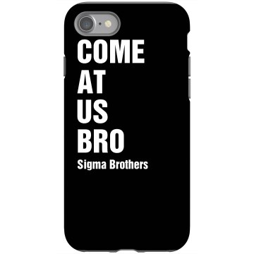 Come At Us iPhone Cover Rubber iPhone 4 & 4S Case Black