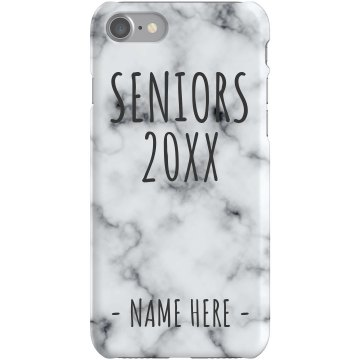 Senior 13 iPhone Case Plastic iPhone 5 Case Black