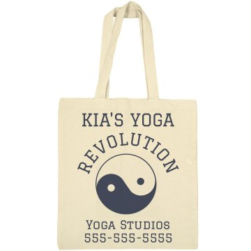 Yoga Tote Bag Liberty Bags Canvas Tote