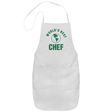 World&#x27;s Best Port Authority Adjustable Full Length Apron