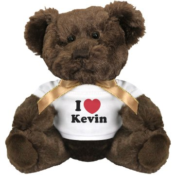 I Heart My Hero Medium Plush Teddy Bear