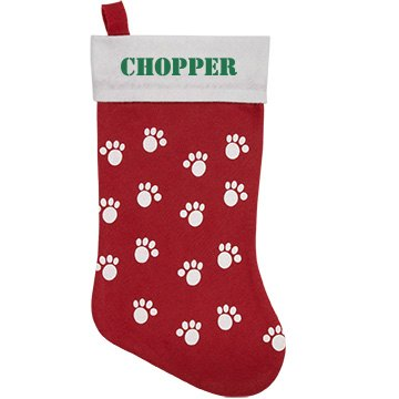 Chopper Personalized Pet Stocking