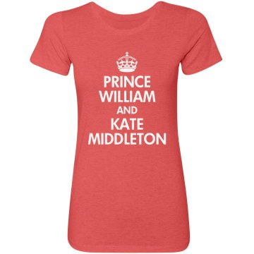 William & Kate Junior Fit Bella Triblend Tee