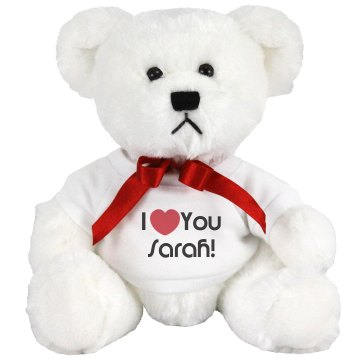 Valentine Bear Small Plush Teddy Bear