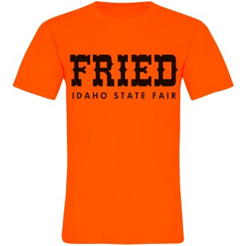 Fried State Fair Unisex American Apparel Neon Crew Neck Tee