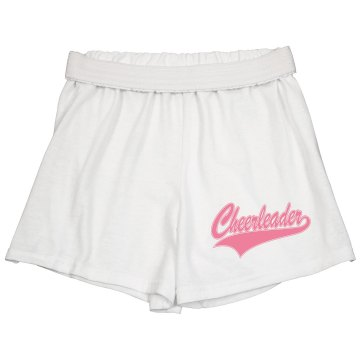 Cheerleader Emblem Junior Fit Soffe Cheer Shorts