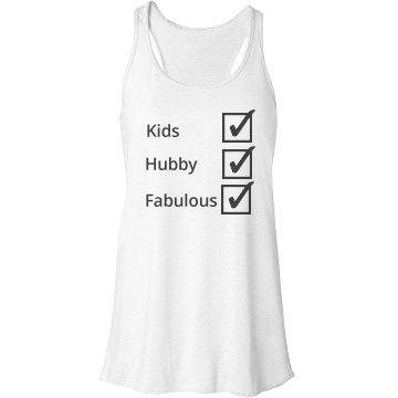 """Fab Mom"" Tank Top"