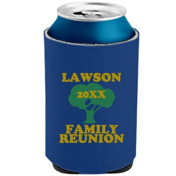 Lawson Family Reunion The Official KOOZIE Can Kooler
