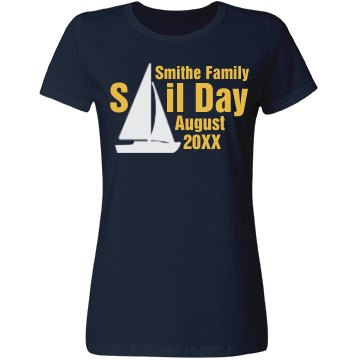 Family Vacation Sail Day