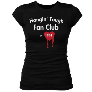 Fan Club Junior Fit Bella Sheer Longer Length Rib Tee