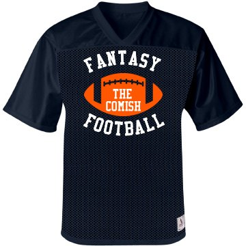 Fantasy Jersey Unisex Augusta Replica Mesh Football Jersey